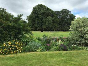 Fordham Abbey gardens
