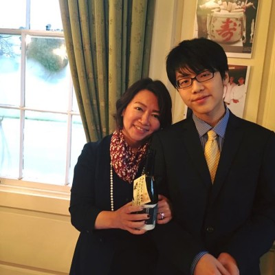 Mrs.Hashimoto & Eiji, the youngest son