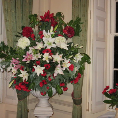 Mrs. C's flower arrangement