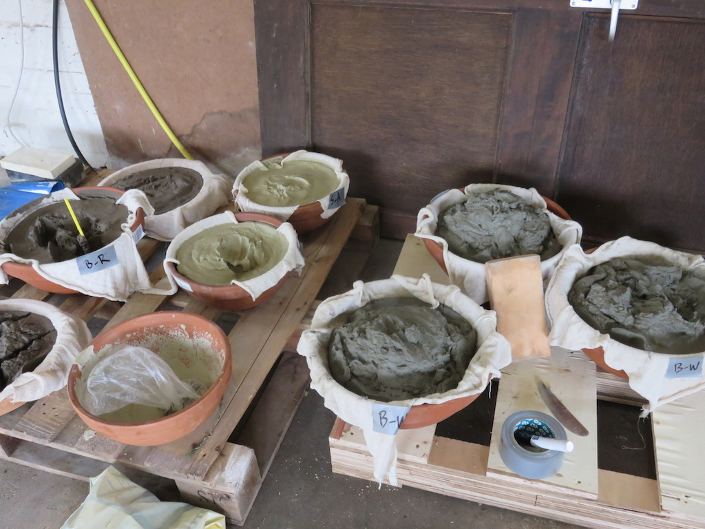 Various clay
